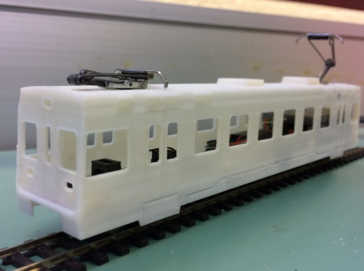 Automotrice Nstcm Be 4/4 201-205 3d printed