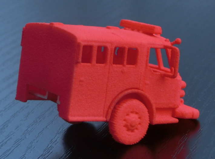 ALF Century 2000 1:64 Cab 3d printed The photos shows the 1:87 version