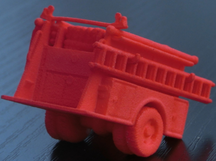 ALF Century 2000 1:64 Body 3d printed The photos shows the 1:87 version