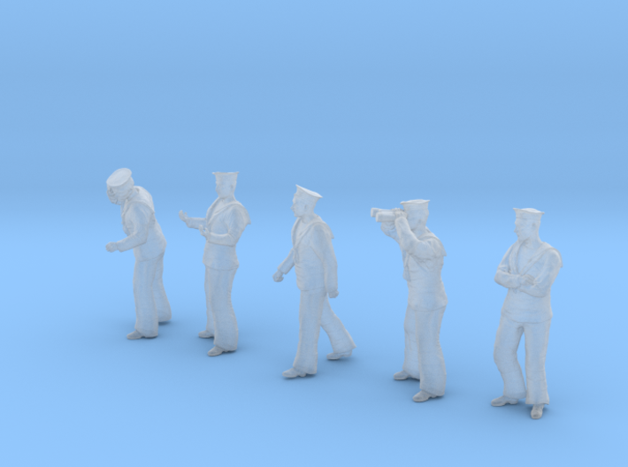 1-48 Royal Navy Sailors Set1-2 3d printed