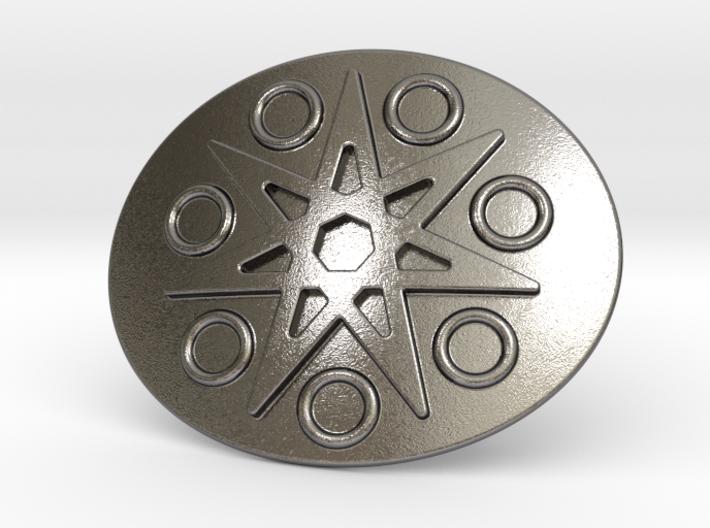 Eptagramma Belt Buckle 3d printed