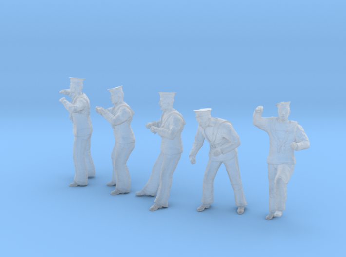 1-32 Royal Navy Sailors Set1-4 3d printed