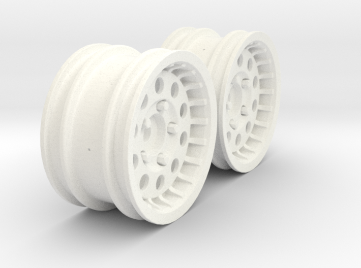 Wheels - M-Chassis - 037 Style - 3mm Offset 3d printed