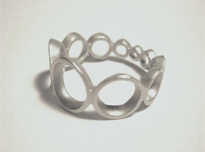circle ring crescending 3d printed