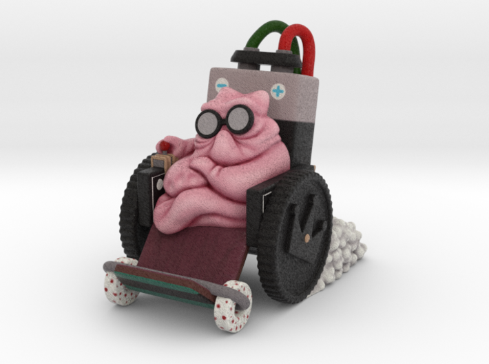 Gum from Sausage Party Movie (smoke version) 3d printed Gum from Sausage Party