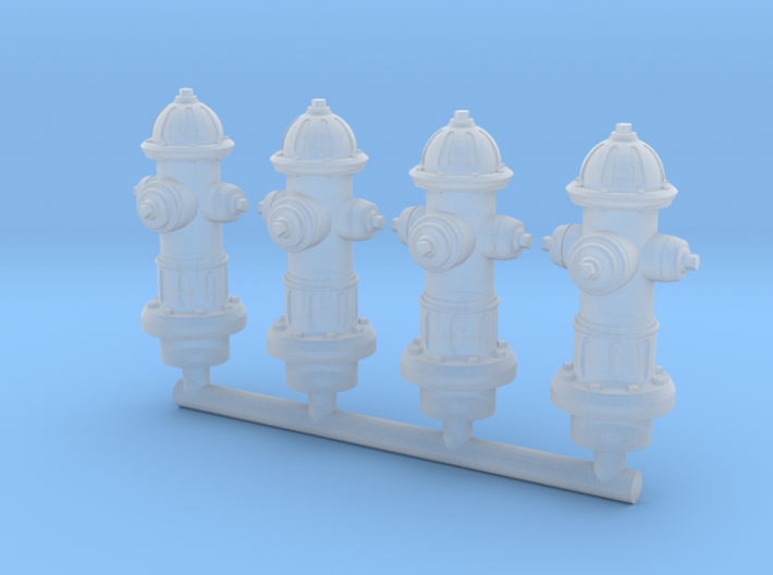 Hydrant 28mm Group 3d printed
