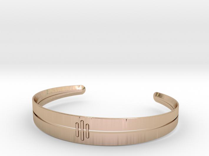 Stitch Bracelet 3d printed