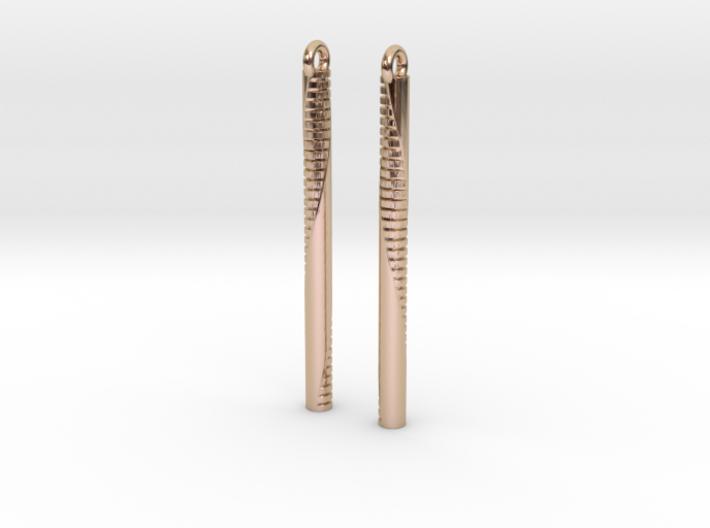 Andromeda Earrings 3d printed