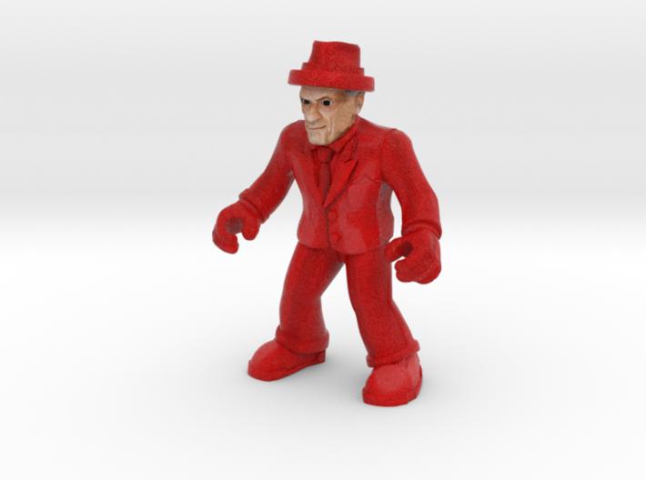 Final Boss Jackal (Full Color Sandstone) 3d printed