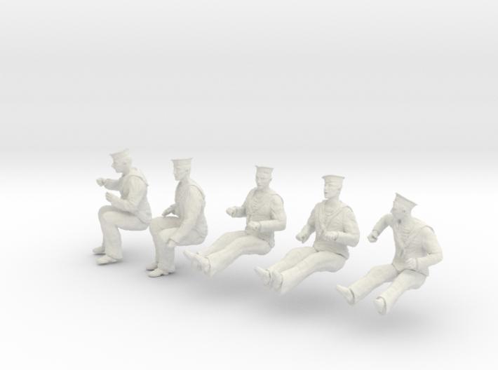1-24 Royal Navy Sailors Set1-6 3d printed