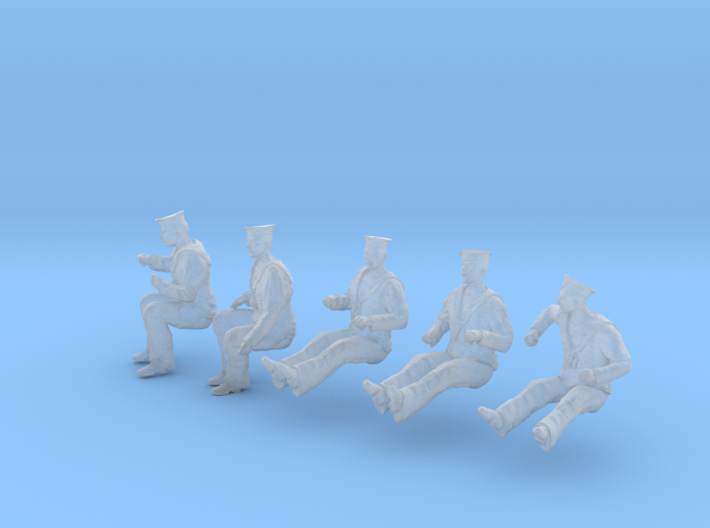 1-32 Royal Navy Sailors Set1-6 3d printed
