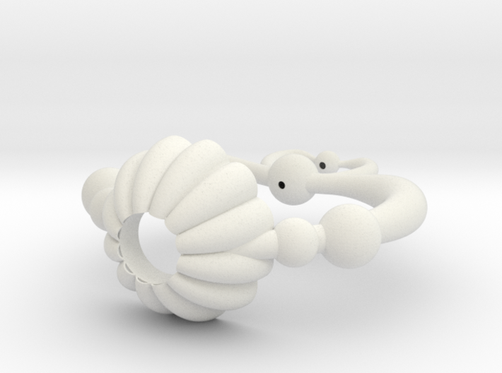 Pluto Heart Prop 3d printed