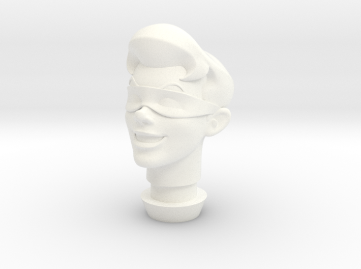 1:9 Scale Robin Head 3d printed