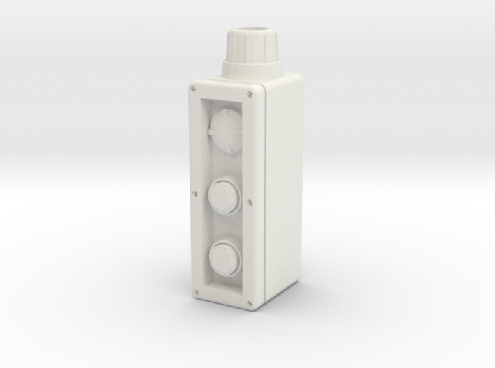 Industrial control box 1:4 scale 3d printed