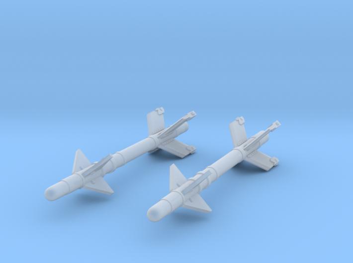 V3S Snake Air-to-Air Missile  3d printed V3S Snake Missile (1/72)