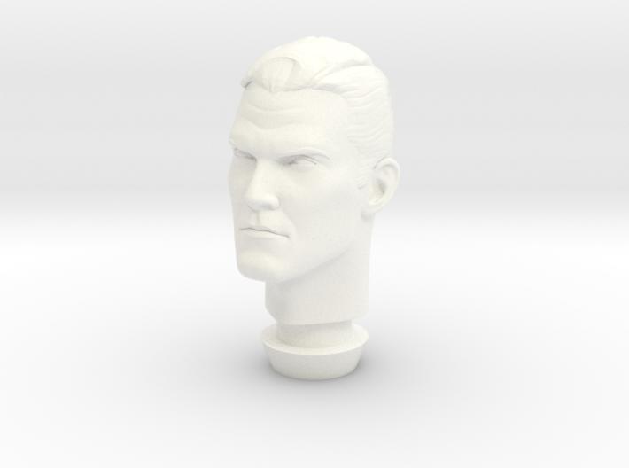 1:9 Scale Dr. Fate Head 3d printed