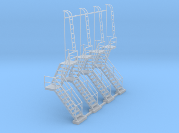NYC - OW, HS & DV Towers - Stair (4X) 3d printed