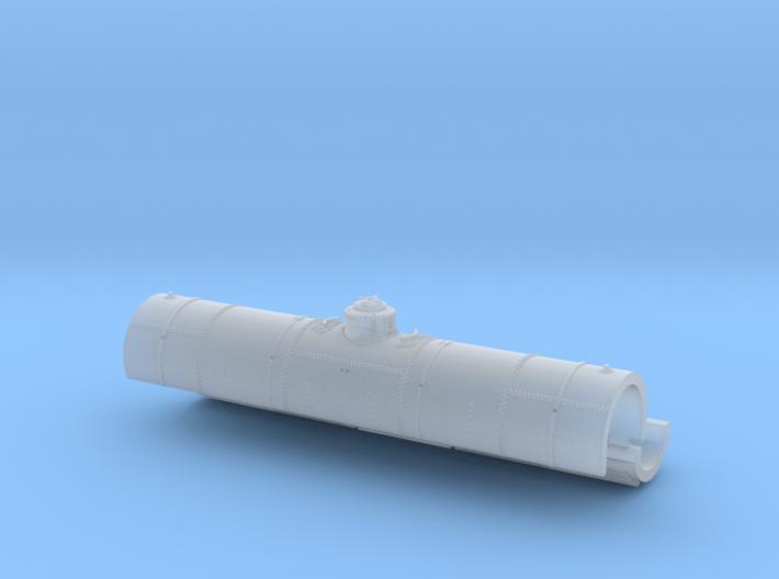 ATSF TANKCAR Tk-G, tank upper and lower half 3d printed