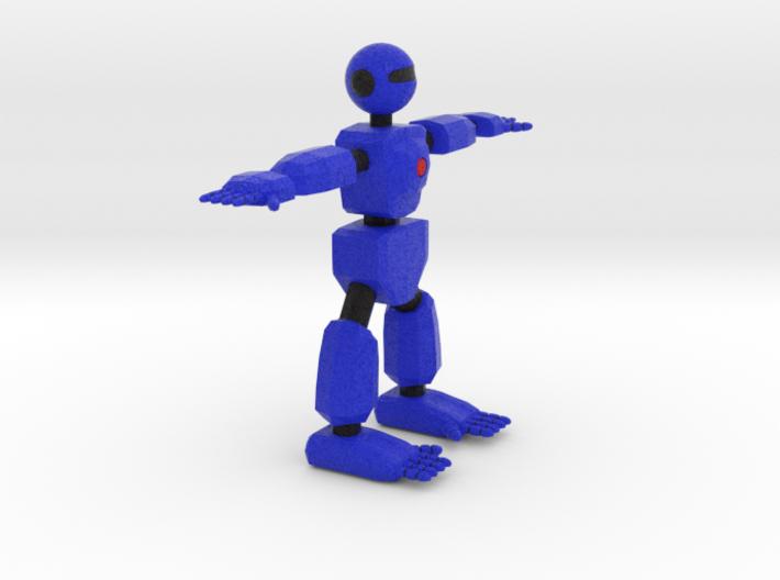 Robot Character Cartoon Bot 3d printed