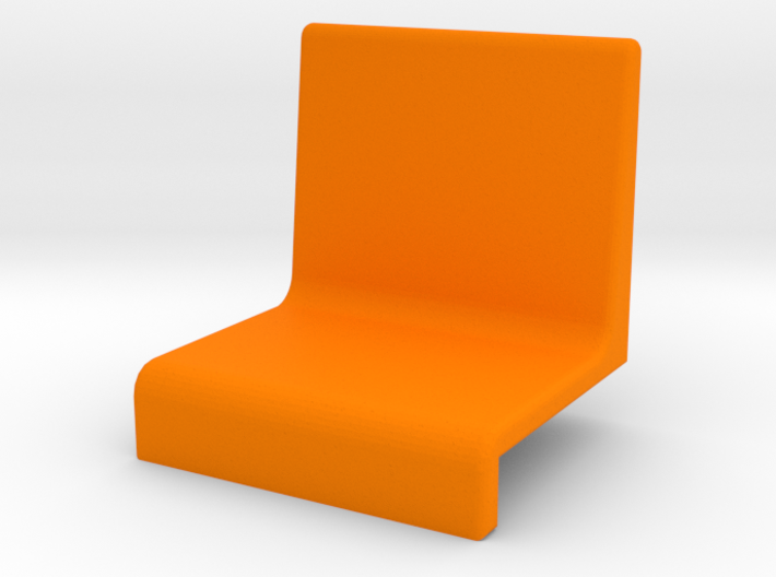 Small armchair for grandstand 3d printed
