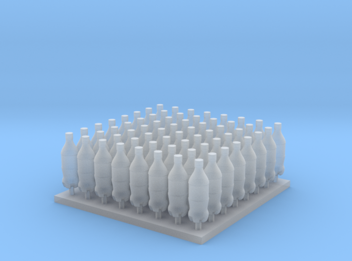 1/35 and 1/16 Modern Soda Bottles MSP35-047 3d printed