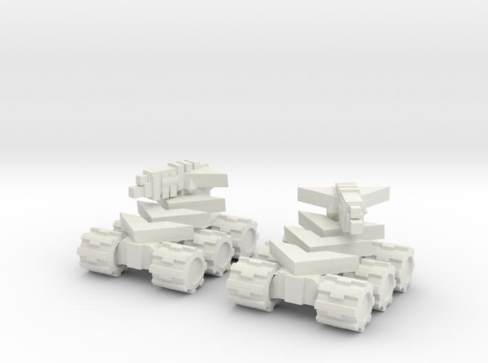 Rim Bastion Mini Tank Pair 3d printed