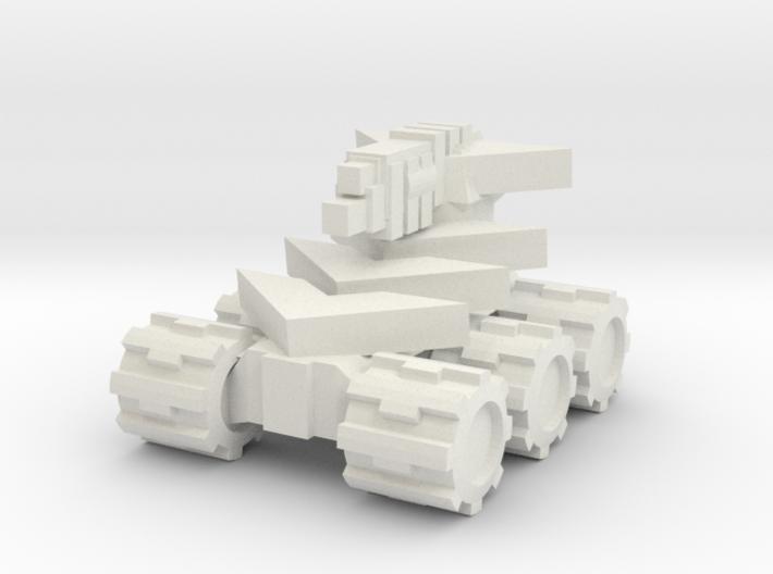 Rim Bastion Mini Tank 3d printed