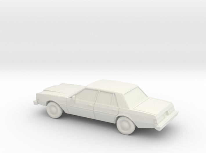 1/87 1980-83 Dodge Diplomat Sedan 3d printed