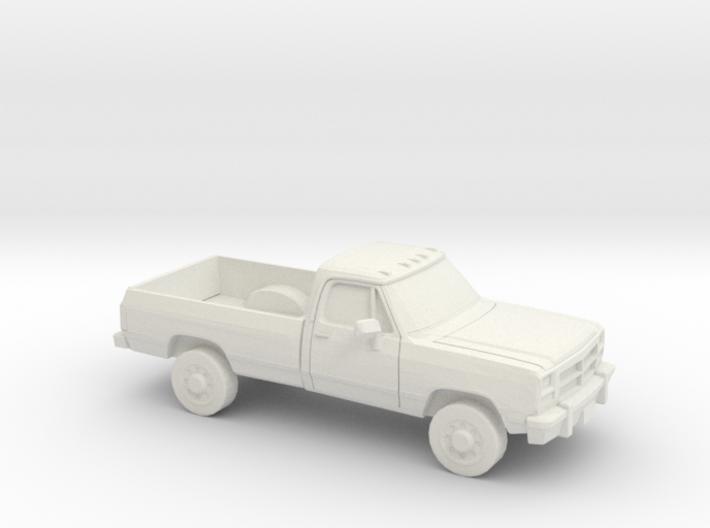 1/87 1991-93 Dodge Ram Reg Cab 3d printed