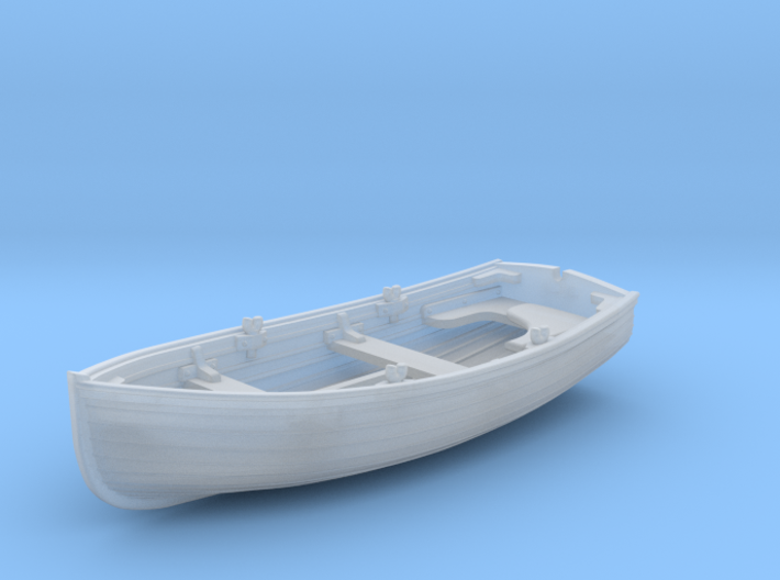 1/144 Scale Allied 10ft Dinghy 3d printed