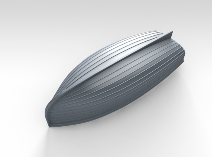 1/72 Scale Allied 10ft Dinghy 3d printed 3d render showing product detail