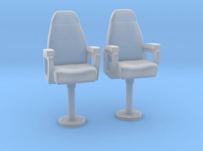 1/24 USN Capt Chair Set 3d printed