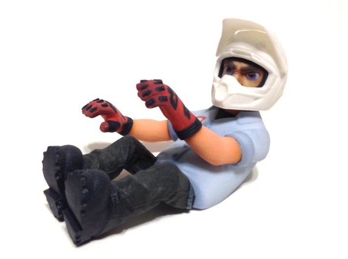 WW10009 Wild Willy Moto Colour Printed Driver Body 3d printed