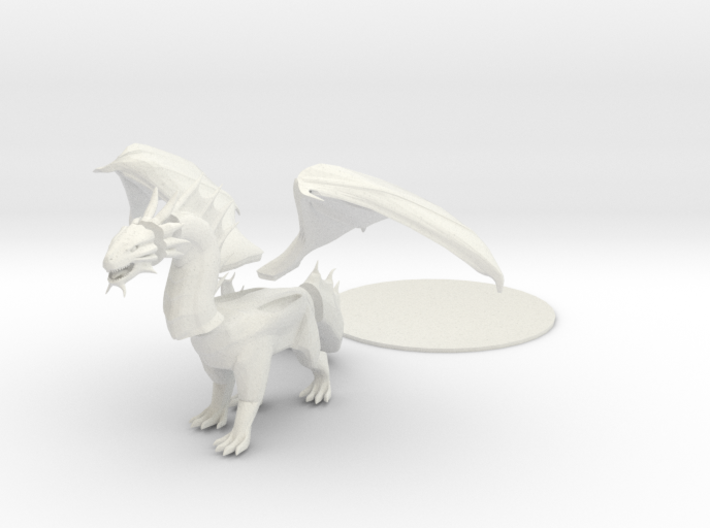 Bronze Dragon 3d printed