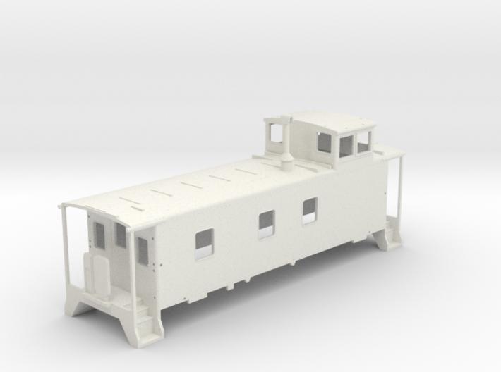D&RGW Caboose V3 3d printed