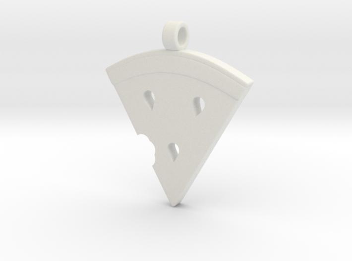 MelonSlice_Pendant 3d printed