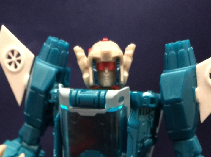 Blurr Add-on Wings 3d printed