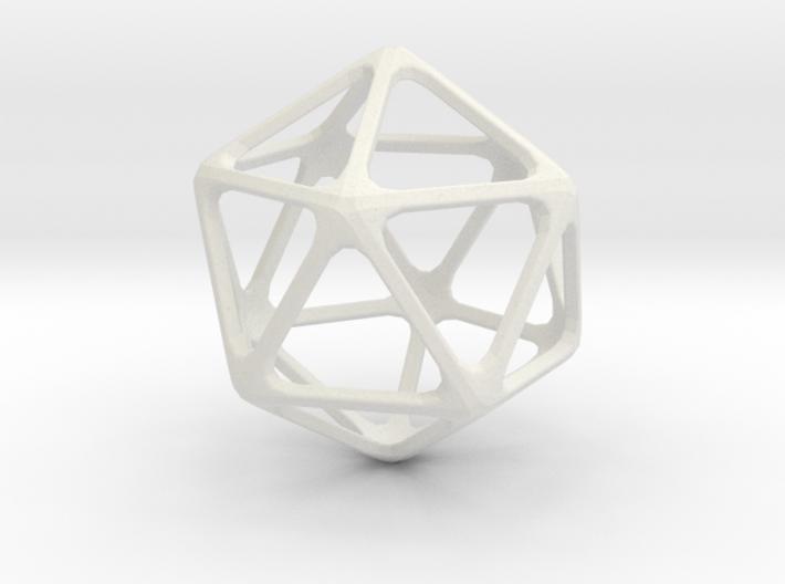 Icoshedron 3d printed