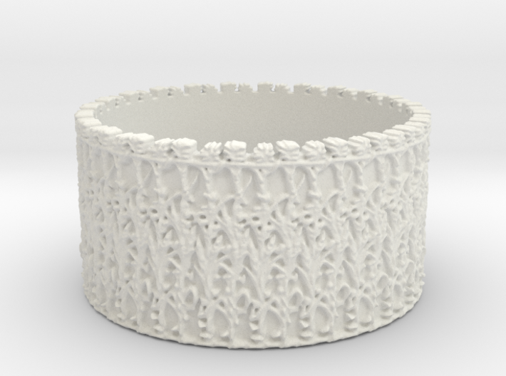 Cornstalk Fence, French Quarter, New Orleans, Ring 3d printed