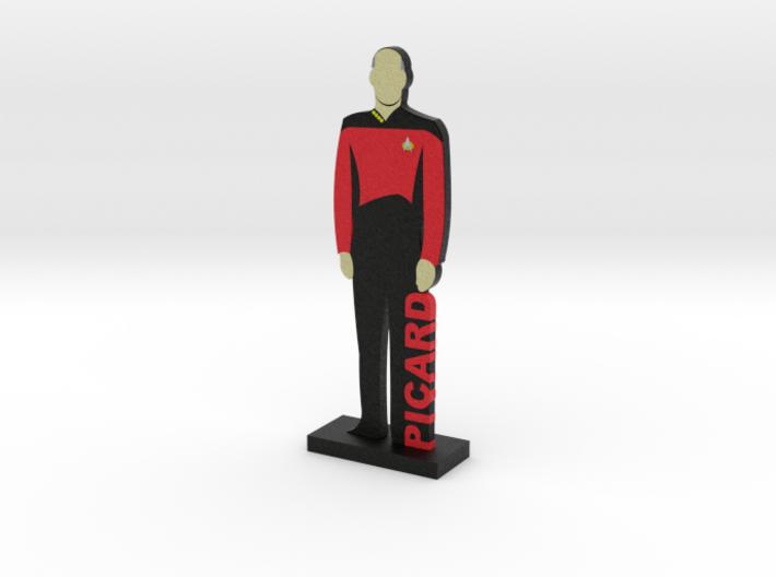 Captain Jean-Luc Picard = DESKAPADES = 3d printed