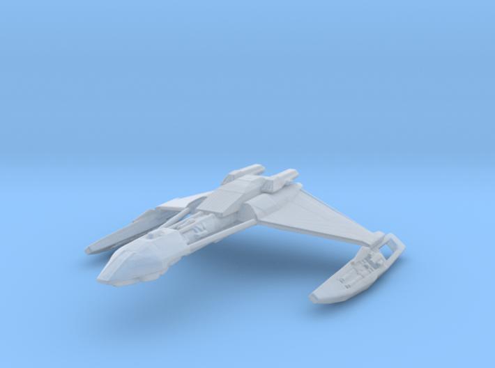 Klingon D5 1/2500 3d printed