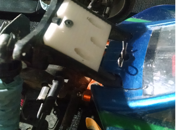 Hot Bodies D413 Front Shock Tower Brace 3d printed