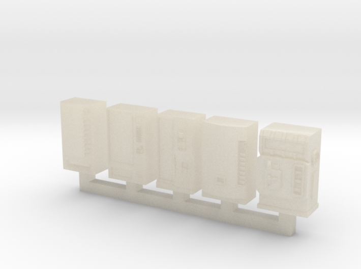N-Scale Vending Machines (5pcs) 3d printed