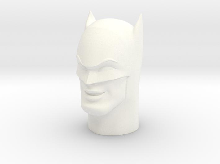 1:6 Scale Batman Head 3d printed