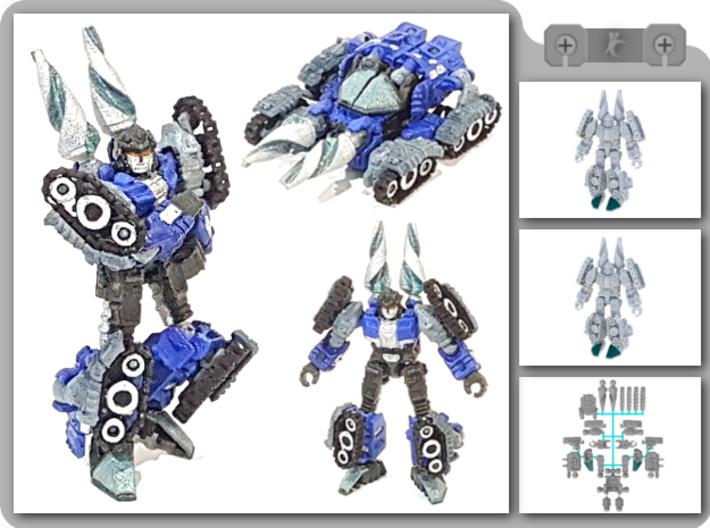 "01-GDT ""Crusader"" 3d printed"