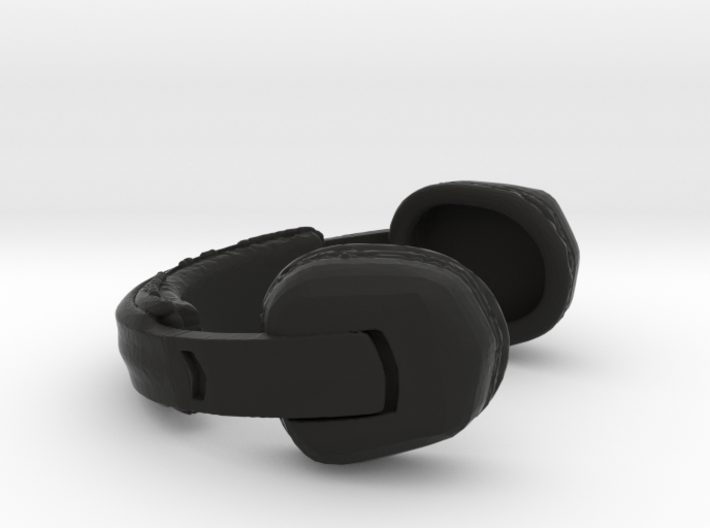 Headset Rallye Type - 1/10 3d printed