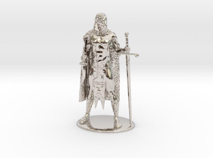 AdventureQuest: Jaern Barbarian Miniature 3d printed