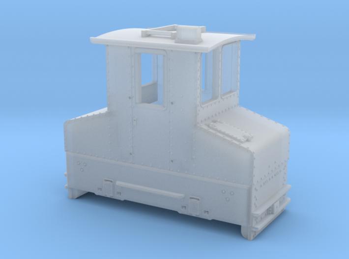 SSW Feldbahn Fahrleitungslok Spur H0e 3d printed