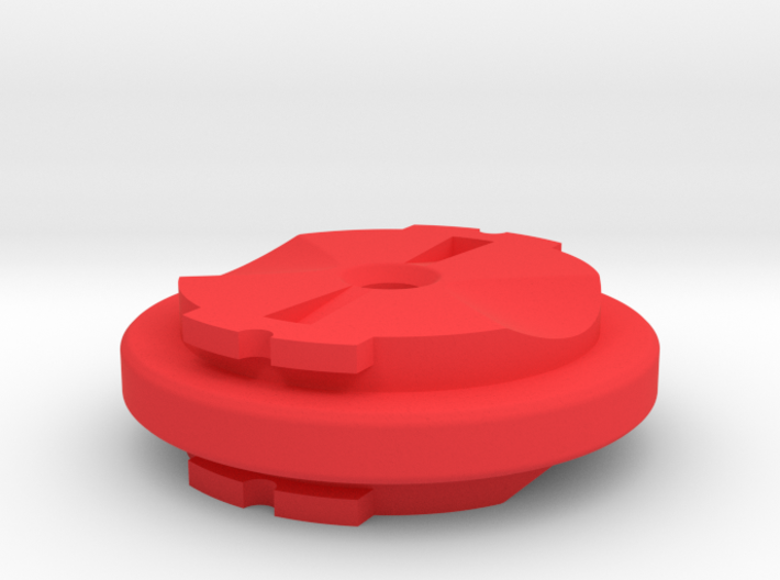 Double-sided Garmin Male Adapter 3d printed