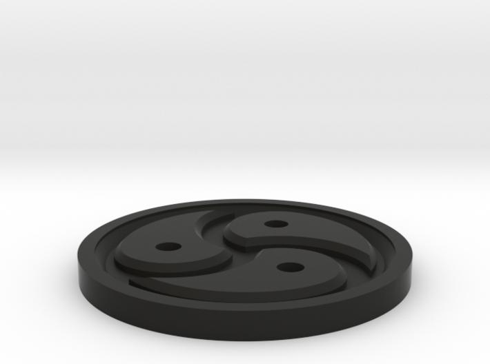 Triskelion Token 3d printed